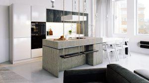balancoire cuisine interieur